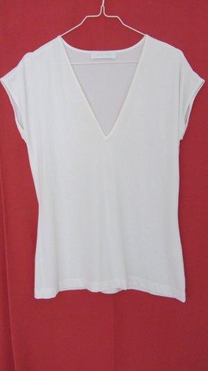 Weisses T-Shirt aus Polyester von Toni Gard Grösse M