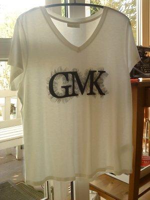 Weißes T-Shirt Guido Maria Kretschmer 46
