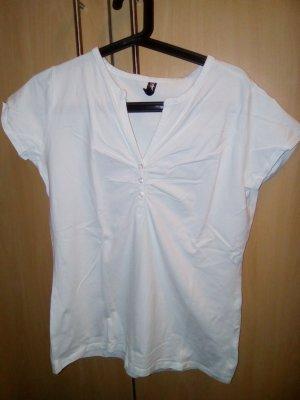 Weißes T-shirt in XL