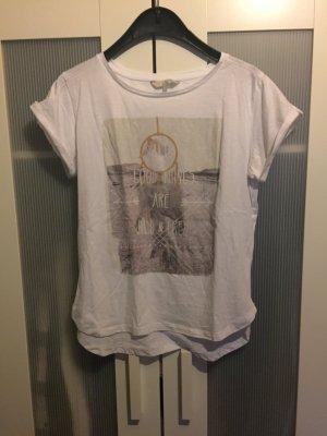 Weißes T-Shirt mit Bild