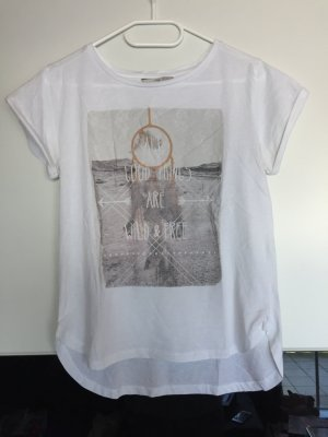 Weißes T-Shirt mit Traumfänger