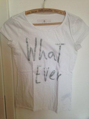 Weißes T-Shirt Tom Tailer