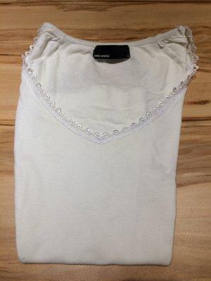 Weißes T-Shirt Vero Moda