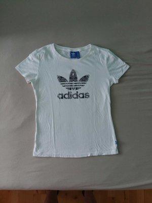 Weißes T-Shirt von Adidas