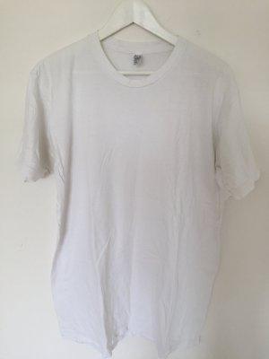 weißes T-Shirt von American Apparel