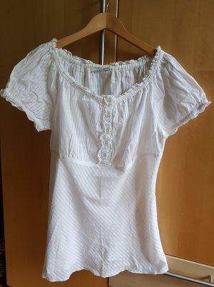 Weißes T-Shirt von C&A Größe 40/42