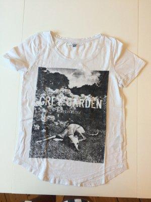 Weißes t-shirt von der Marke ONLY in der Größe XS. kaum getragen.