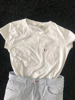 Weißes T-Shirt von Levi's in XS