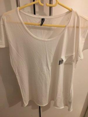 Weißes T-Shirt von Madonna