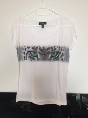 Weißes T-Shirt von Mango
