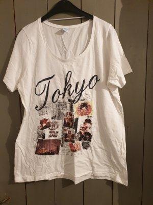 weißes T-Shirt von msmode