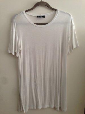 Weißes T-shirt von Nasty gal