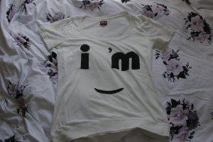 Weißes T- Shirt von Only