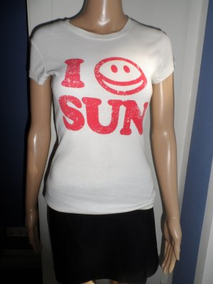 """Weißes T-Shirt von ONLY """"Sun"""""""