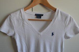 Weißes T-Shirt von Polo Ralph Lauren