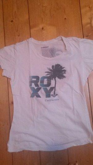 weißes T-shirt von Roxy Surfer