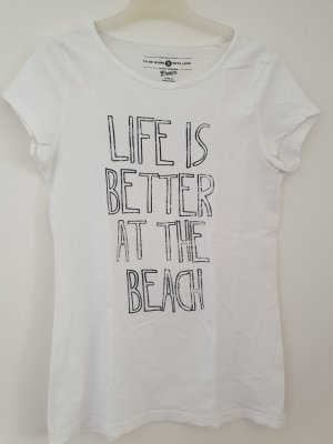 Weißes T-shirt von Tom Tailor