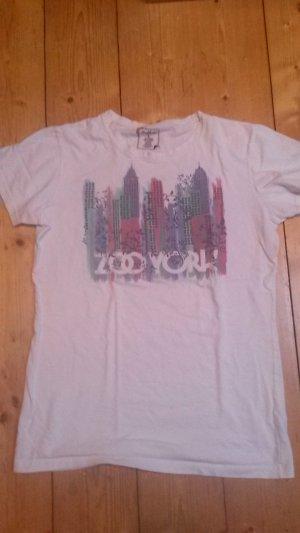 Weißes T-Shirt von Zoo York