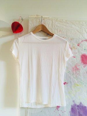 Weißes T-Shirt ** Zara ** Gr. M
