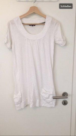 Weißes T - Shirtkleid