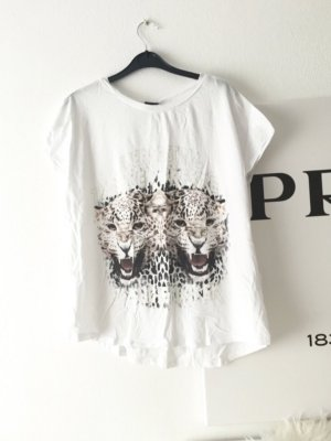 Weißes Tigerr Tshirt
