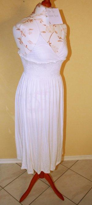 Weißes tolles Strandkleid