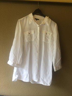 Weißes Tommy hilfiger Hemd Größe 40/42