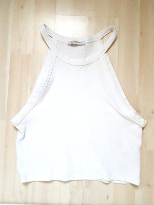 Zara Haltertop wit