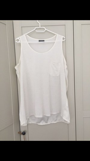 Weißes top/Bluse