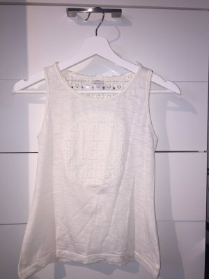 s.Oliver Lace Top natural white
