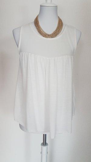 Colloseum Cowl-Neck Top white