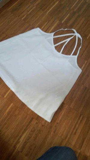 Hollister V-hals shirt wit