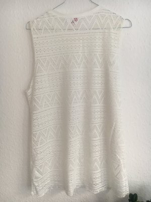 H&M Divided Top cut out blanco