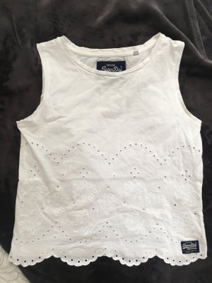 Superdry Lace Top white