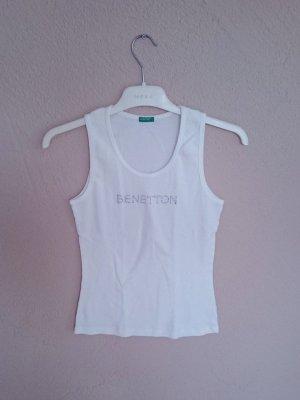 weißes Top von Benetton