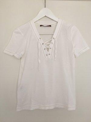 Comptoir des Cotonniers Top linea A bianco