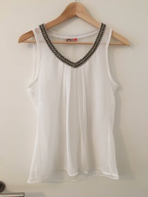 Only V-Neck Shirt multicolored