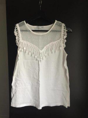Weißes Top von Zara!
