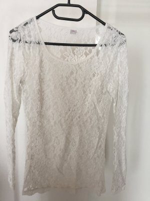 Weißes transparentes Shirt