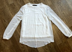 Weißes transparentes Shirt, Bluse, cleaner Look