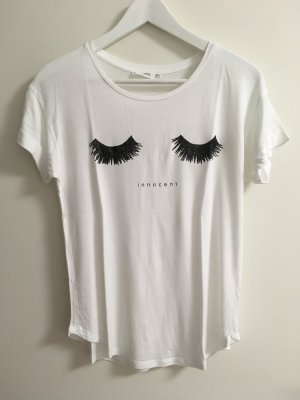 weißes Tshirt mit glitzerndem Aufdruck