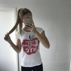 weißes Tshirt mit Print/Aufdruck