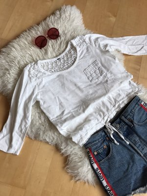 Tommy Hilfiger Crochet Shirt white
