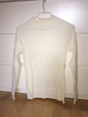 Weißes Turtleneck Oberteil von H&M