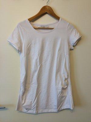 Weißes Umstands-T-Shirt