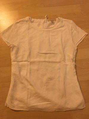 Weißes viscose shirt von banana republic