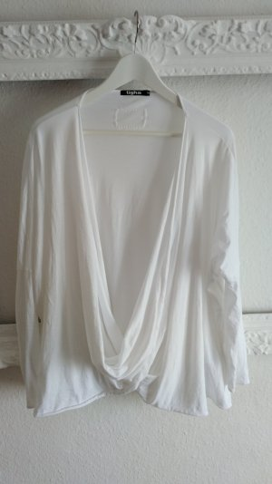 weißes WickelShirt von tigha, Gr.M