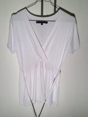 Hallhuber Maglietta aderente bianco Cotone