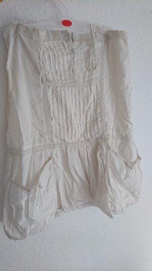 Weißes Zara Kids Sommerkleidchen