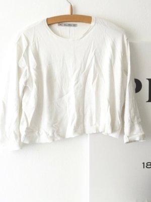 Weißes Zara Pullover